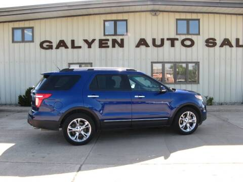 2015 Ford Explorer for sale at Galyen Auto Sales Inc. in Atkinson NE