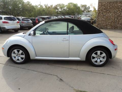 2007 Volkswagen New Beetle Convertible for sale at SPORT CITY MOTORS in Dallas TX