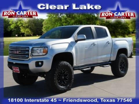 2016 GMC Canyon for sale at Ron Carter  Clear Lake Used Cars in Houston TX