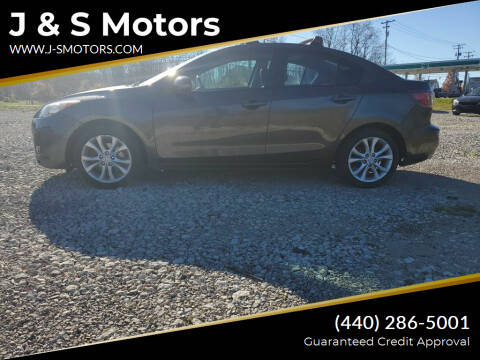 2010 Mazda MAZDA3 for sale at J & S Motors in Chardon OH