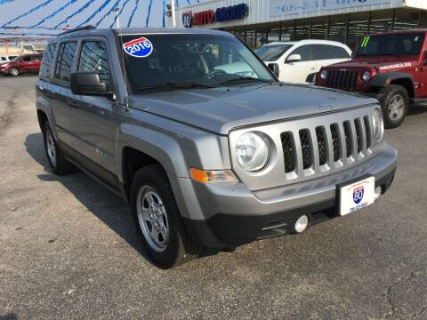 2016 Jeep Patriot for sale at I-80 Auto Sales in Hazel Crest IL
