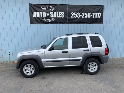 2004 Jeep Liberty for sale at Austin's Auto Sales in Edgewood WA