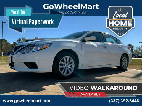 2018 Nissan Altima for sale at GOWHEELMART in Available In LA
