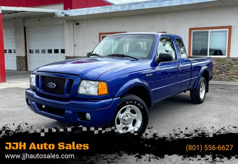 2004 Ford Ranger for sale at JJH Auto Sales in Salt Lake City UT
