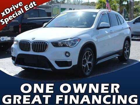 2018 BMW X1 for sale at Palm Beach Auto Wholesale in Lake Park FL