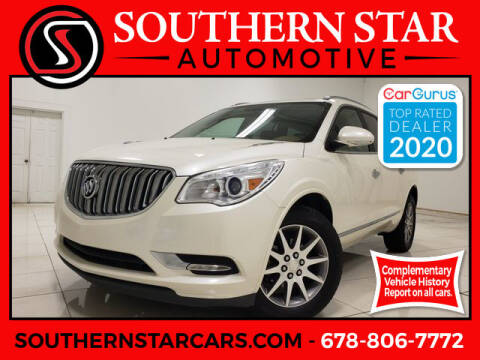2014 Buick Enclave for sale at Southern Star Automotive, Inc. in Duluth GA