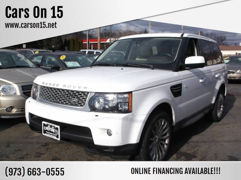2013 Land Rover Range Rover Sport for sale at Cars On 15 in Lake Hopatcong NJ