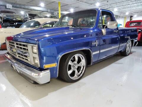 1985 Chevrolet C-10 Reg Cab Short Box for sale at Great Lakes Classic Cars & Detail Shop in Hilton NY