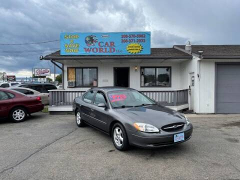2003 Ford Taurus for sale at CAR WORLD in Nampa ID