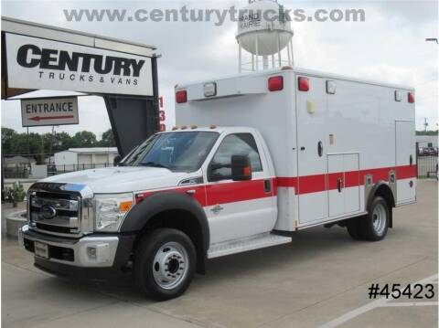 2012 Ford F-450 Super Duty for sale at CENTURY TRUCKS & VANS in Grand Prairie TX