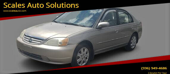 2003 Honda Civic for sale at Scales Auto Solutions in Madison NC
