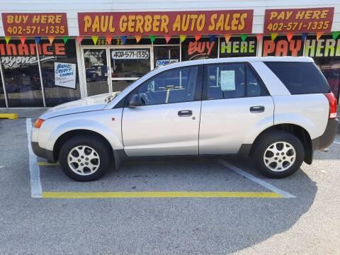2003 Saturn Vue for sale at Paul Gerber Auto Sales in Omaha NE