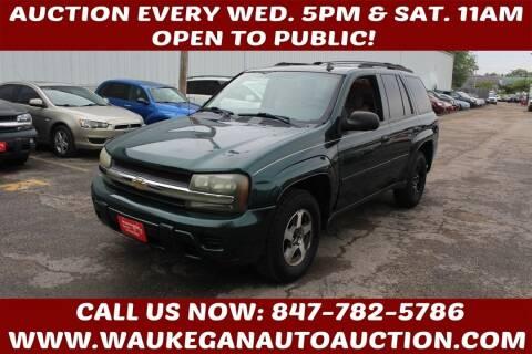 2006 Chevrolet TrailBlazer for sale at Waukegan Auto Auction in Waukegan IL