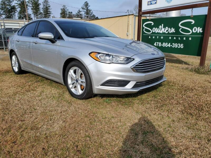 2018 Ford Fusion for sale in Wrightsville, GA