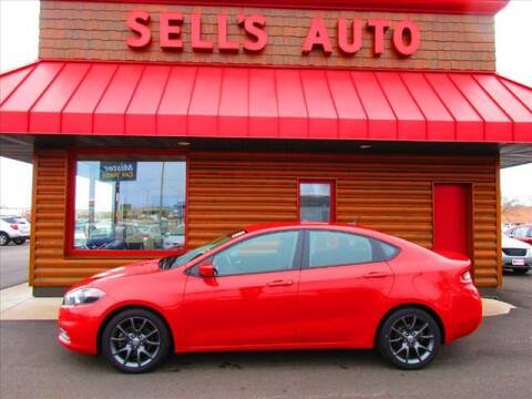 2016 Dodge Dart for sale at Sells Auto INC in Saint Cloud MN