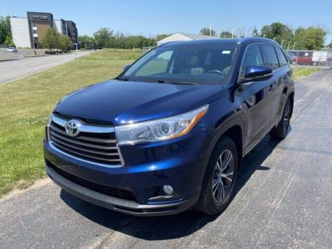 2016 Toyota Highlander for sale at Cappellino Cadillac in Williamsville NY