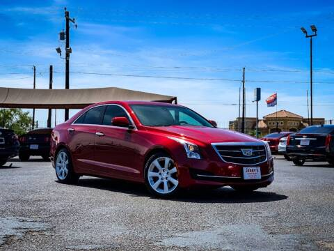 2016 Cadillac ATS for sale at Jerrys Auto Sales in San Benito TX