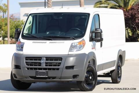 2017 RAM ProMaster Cargo for sale at Euro Auto Sales in Santa Clara CA