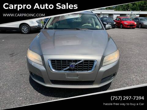 2008 Volvo V70 for sale at Carpro Auto Sales in Chesapeake VA
