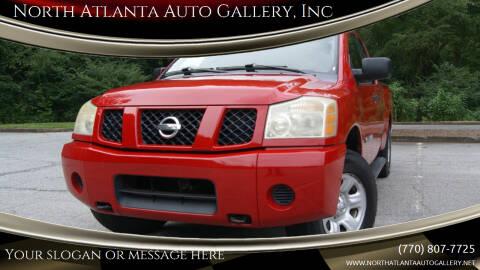2007 Nissan Titan for sale at North Atlanta Auto Gallery, Inc in Alpharetta GA