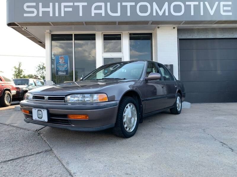 1992 Honda Accord for sale at Shift Automotive in Denver CO