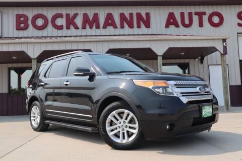 2014 Ford Explorer for sale at Bockmann Auto Sales in Saint Paul NE