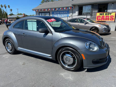2013 Volkswagen Beetle for sale at Blue Diamond Auto Sales in Ceres CA