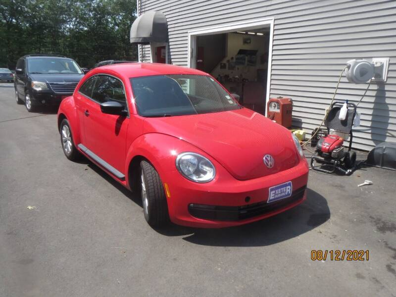 2015 Volkswagen Beetle for sale at D & F Classics in Eliot ME