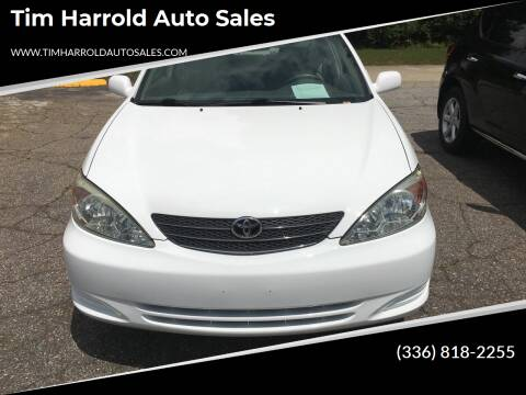2003 Toyota Camry for sale at Tim Harrold Auto Sales in Wilkesboro NC