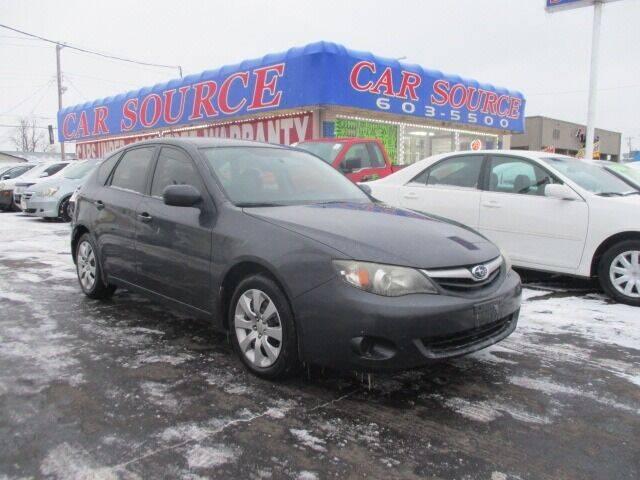 2011 Subaru Impreza for sale at CAR SOURCE OKC in Oklahoma City OK