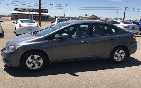 2013 Honda Civic for sale at First Choice Auto Sales in Bakersfield CA