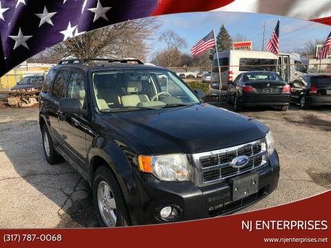 2011 Ford Escape for sale at NJ Enterprises in Indianapolis IN