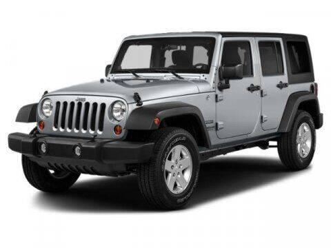 2018 Jeep Wrangler JK Unlimited for sale at SCOTT EVANS CHRYSLER DODGE in Carrollton GA