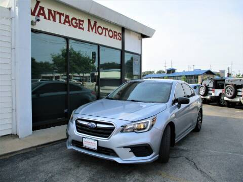 2019 Subaru Legacy for sale at Vantage Motors LLC in Raytown MO