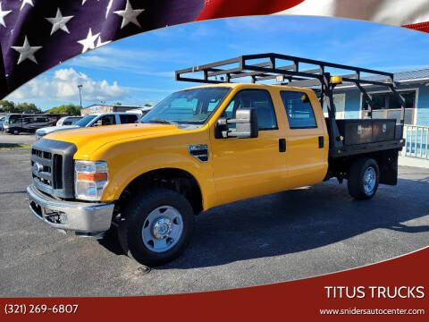 2008 Ford F-350 Super Duty for sale at Titus Trucks in Titusville FL
