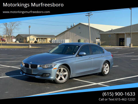 2014 BMW 3 Series for sale at Motorkings Murfreesboro in Murfreesboro TN