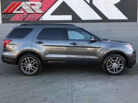 2019 Ford Explorer for sale at Auto Republic Fullerton in Fullerton CA
