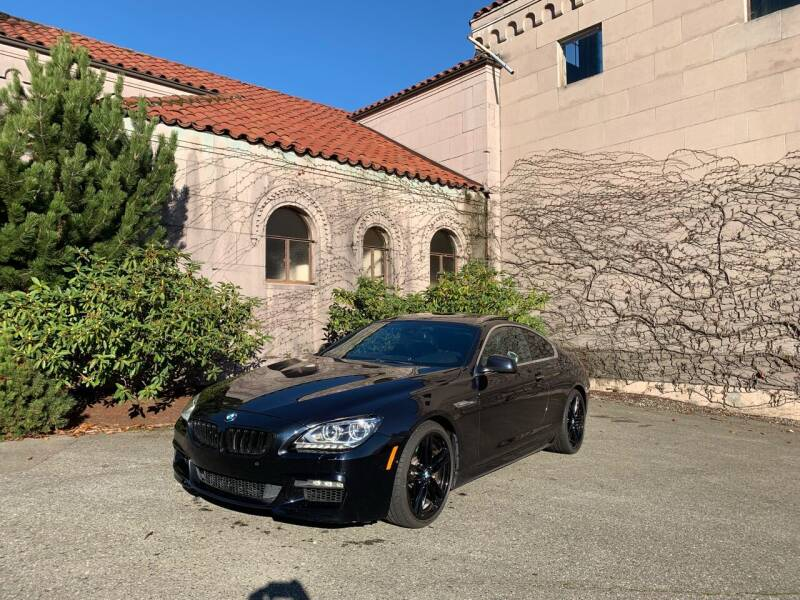 2012 BMW 6 Series for sale at First Union Auto in Seattle WA