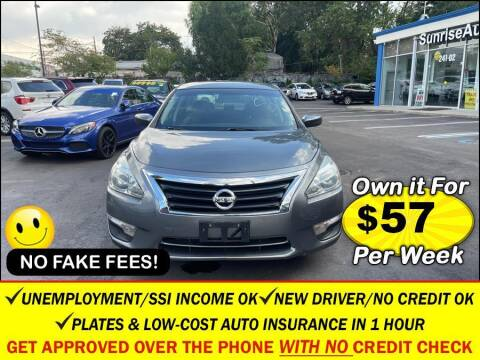 2014 Nissan Altima for sale at AUTOFYND in Elmont NY