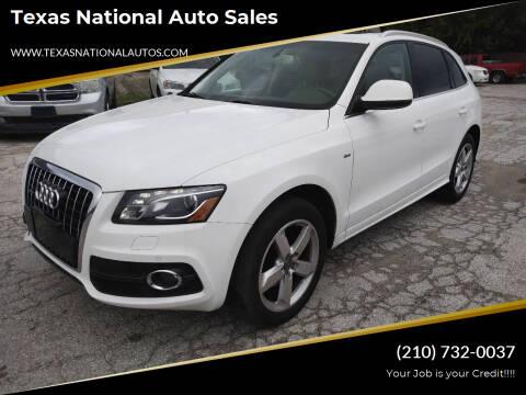 2012 Audi Q5 for sale at Texas National Auto Sales in San Antonio TX