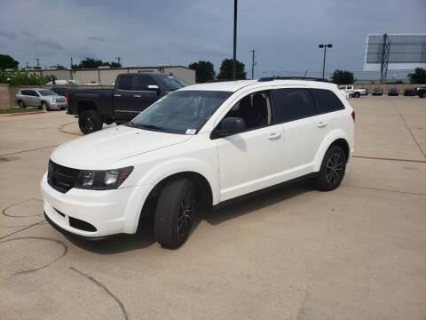 2018 Dodge Journey for sale at Bad Credit Call Fadi in Dallas TX