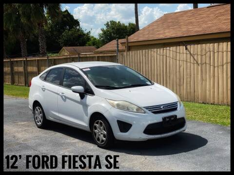 2012 Ford Fiesta for sale at ASTRO MOTORS in Houston TX