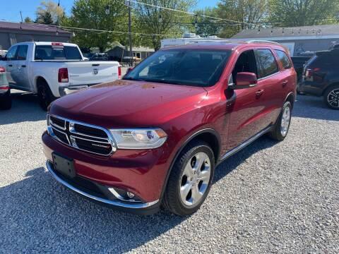 2014 Dodge Durango for sale at Davidson Auto Deals in Syracuse IN