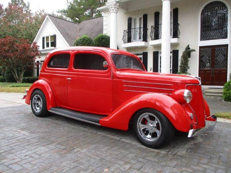 1936 Ford Slant Back Resto-Rod for sale at Classic Investments in Marietta GA