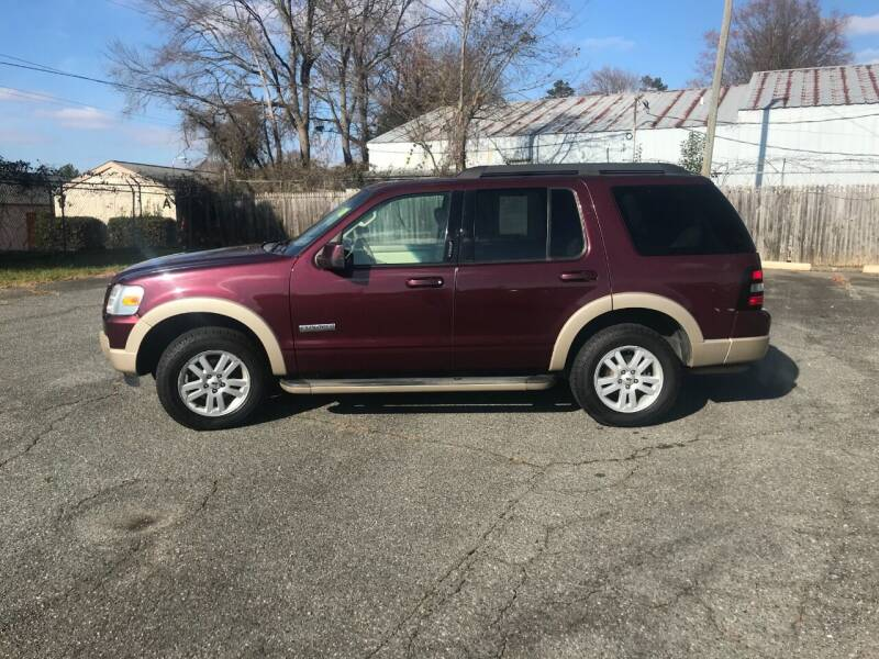 2008 Ford Explorer for sale at Mike's Auto Sales of Charlotte in Charlotte NC