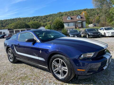 2012 Ford Mustang for sale at Ron Motor Inc. in Wantage NJ
