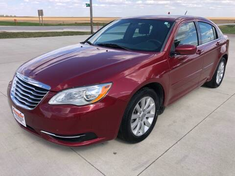2014 Chrysler 200 for sale at SPANGLER AUTOMOTIVE in Glidden IA