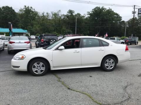 2009 Chevrolet Impala for sale at M G Motors in Johnston RI