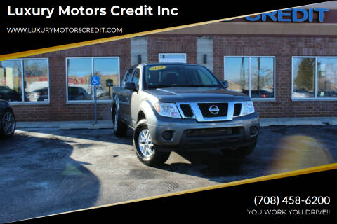 2019 Nissan Frontier for sale at Luxury Motors Credit Inc in Bridgeview IL
