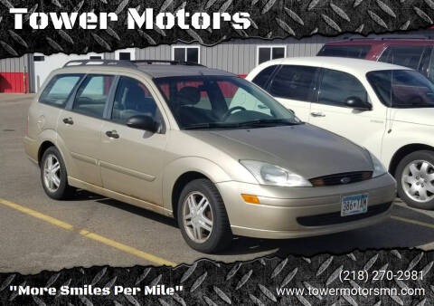 2001 Ford Focus for sale at Tower Motors in Brainerd MN